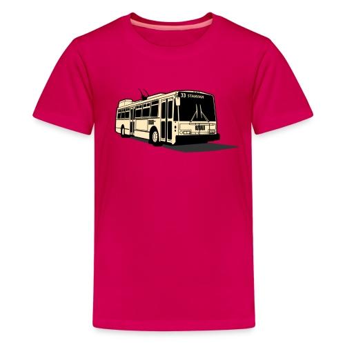 33 Stanyan Muni Bus T-shirt - Kids' Premium T-Shirt