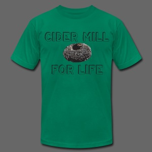 Cider Mill Donuts For Life - Men's Fine Jersey T-Shirt