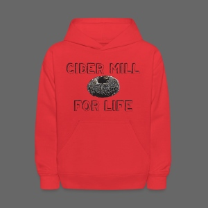 Cider Mill Donuts For Life - Kids' Hoodie