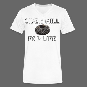Cider Mill Donuts For Life - Men's V-Neck T-Shirt by Canvas