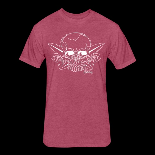 023 Skull - Fitted Cotton/Poly T-Shirt by Next Level