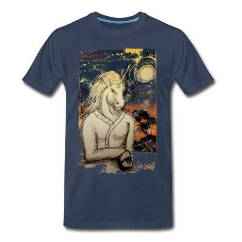Unicorn Man B - Men's Premium T-Shirt