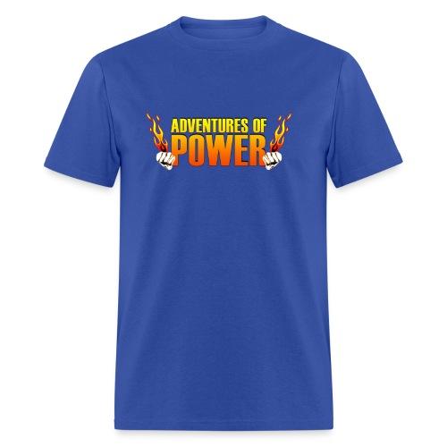 Adventures of Power T (Men's) - Men's T-Shirt