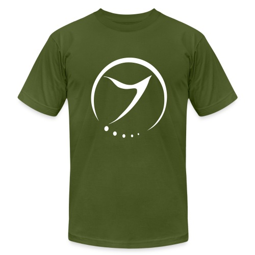 Mens Tee (white logo front) - Men's Fine Jersey T-Shirt
