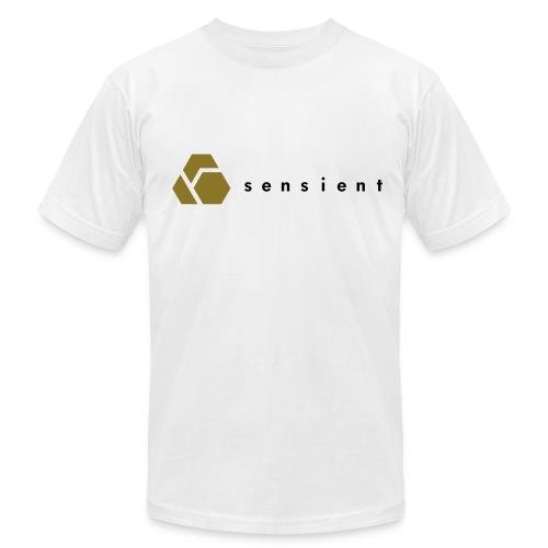 Sensient Tee (black text) - Men's Fine Jersey T-Shirt