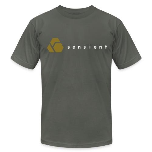 Sensient Tee (white text) - Men's Fine Jersey T-Shirt