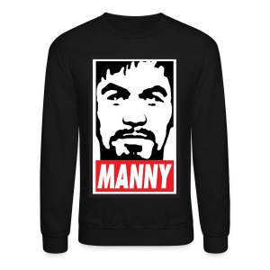 MANNY Mens Crewneck Sweatshirt by AiReal Apparel - Crewneck Sweatshirt