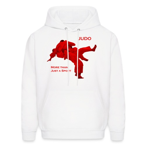Judo - More than Just a Sport  - Men's Hoodie