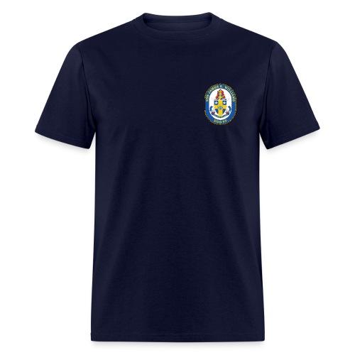 USS James E Williams DDG-95 Crest Tee - Men's T-Shirt
