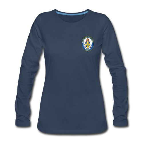 USS James E Williams DDG-95 Crest Long Sleeve - Women's - Women's Premium Long Sleeve T-Shirt