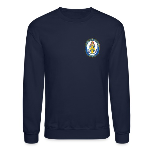 USS James E Williams DDG-95 Crest Sweatshirt - Crewneck Sweatshirt