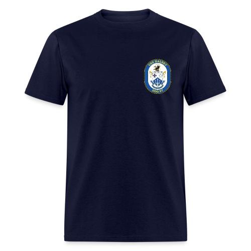 USS HALSEY DDG-97 Crest Tee - Men's T-Shirt