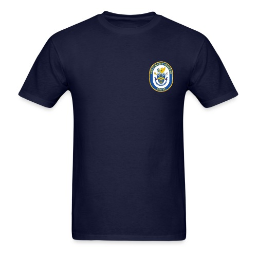 USS FORREST SHERMAN DDG-98 Crest Tee - Men's T-Shirt