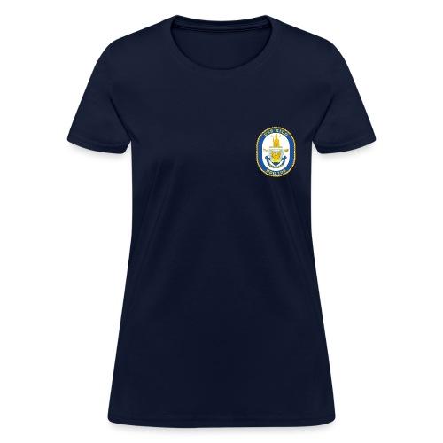 USS KIDD DDG-100 Crest Tee - Women's - Women's T-Shirt