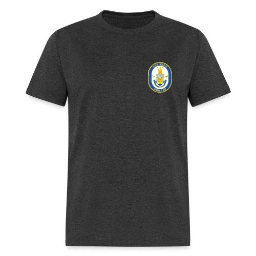 USS KIDD DDG-100 Crest Tee - Men's T-Shirt
