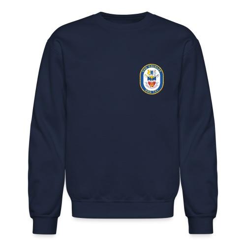 USS GRIDLEY DDG-101 Crest Sweatshirt - Crewneck Sweatshirt