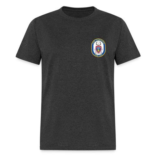 USS SAMPSON DDG-102 Crest Tee - Men's T-Shirt