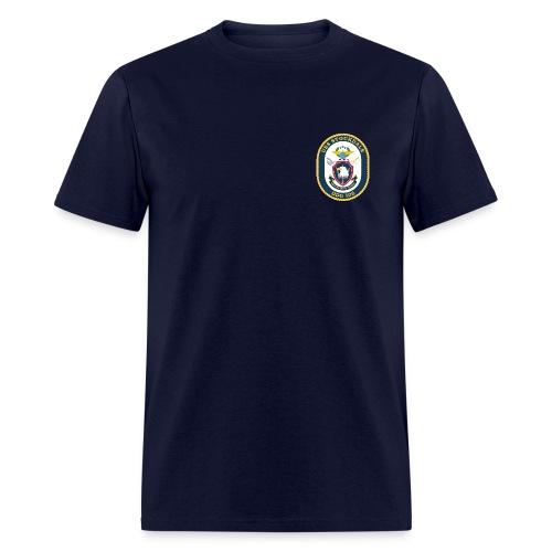 USS STOCKDALE (DDG-106) Crest Tee - Men's T-Shirt