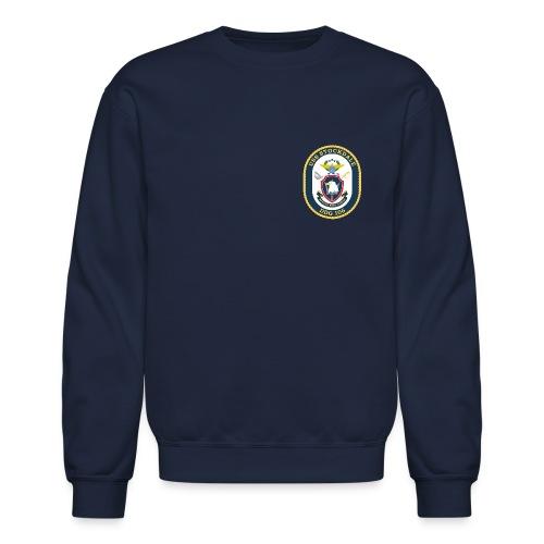USS STOCKDALE (DDG-106) Crest Sweatshirt - Crewneck Sweatshirt