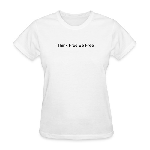 TFBF Motto Womens T-Shirt White - Women's T-Shirt