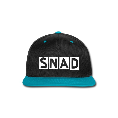 SNAD-Back Hat - Snap-back Baseball Cap