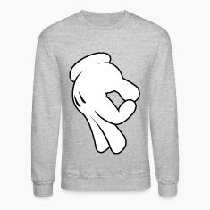 Gottem Mens Crewneck Sweatshirt by AiReal Apparel
