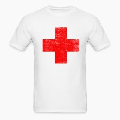Distressed Red Cross