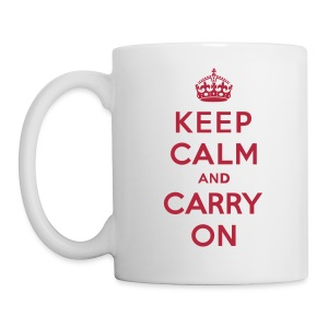 Keep Calm and Carry On Coffee/Tea Mug - Coffee/Tea Mug