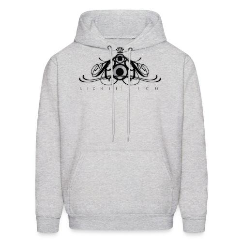 Richie Rich Men's Hoodie [black logo] - Men's Hoodie