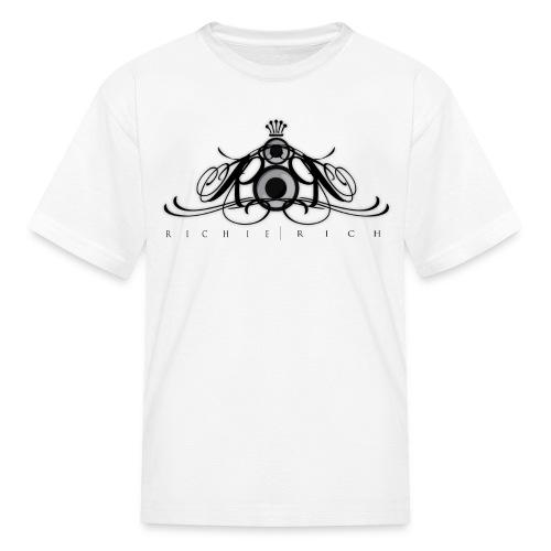 Richie Rich Kids Tee [black logo] - Kids' T-Shirt