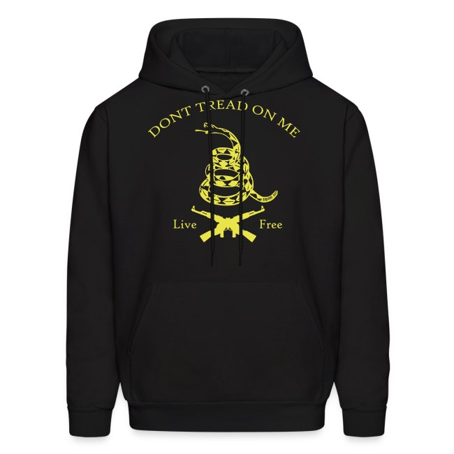 Dont Tread On Me - Live Free (Hoodie)