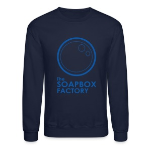 Soapbox Factory Blue - Crewneck Sweatshirt