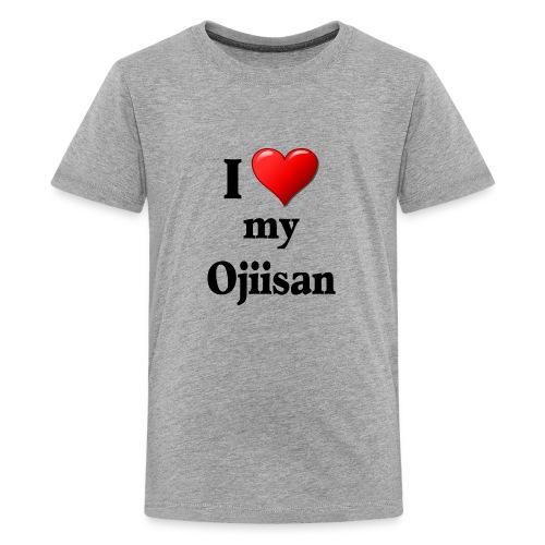I Love my Ojiisan T-Shirt - Kids' Premium T-Shirt