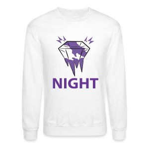 Diamond Night (white) - Crewneck Sweatshirt
