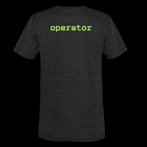 Unisex SuperSoft EnLedger Shirt - Operator - Unisex Tri-Blend T-Shirt by American Apparel