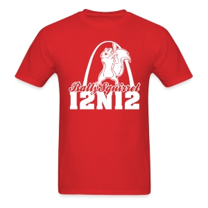 Cardinals Rally Squirrel - 12 in 12 Tee Shirt - Men's T-Shirt