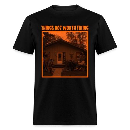 Halloween Decorations Shirt (Black · Created for October) - Men's T-Shirt