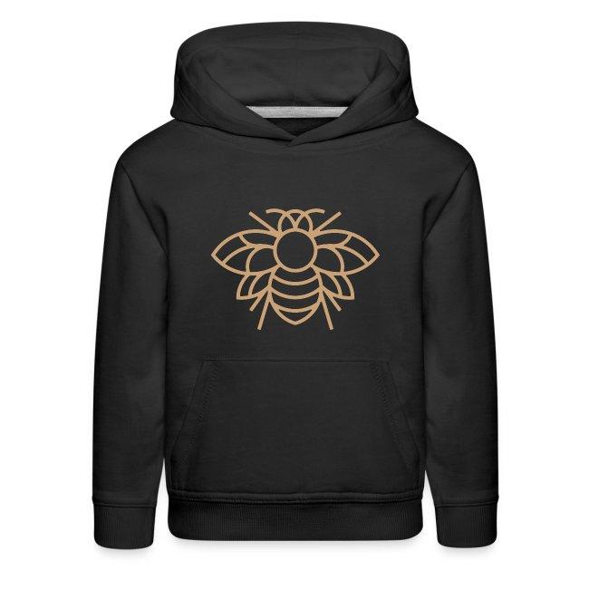 Golden Bee Kids Hoodie
