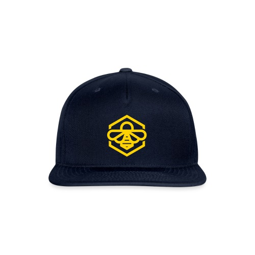 Yellow Bee Family Snap Back - Snap-back Baseball Cap