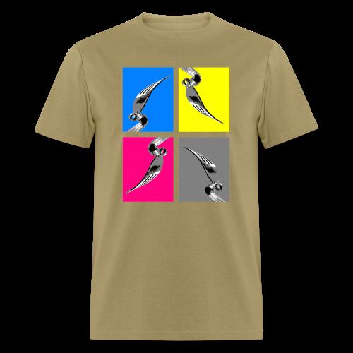 WARHOL BENT FORK - Men's T-Shirt