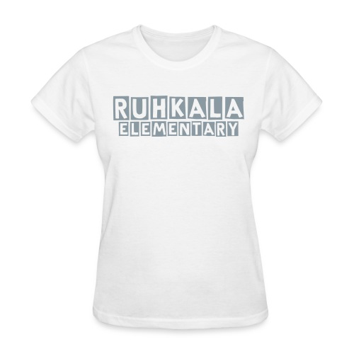 Women's Ruhkala block letter tee - Women's T-Shirt