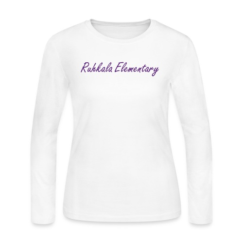 Women's Long-sleeve Ruhkala Elementary shirt - Women's Long Sleeve Jersey T-Shirt
