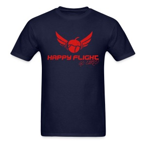 Happy Flight - Blue - Men's T-Shirt