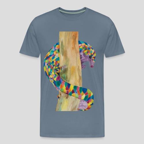 Playful Pangolin Men's Premium T-shirt - Men's Premium T-Shirt