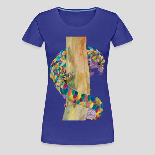 Playful Pangolin Women's Premium T-shirt - Women's Premium T-Shirt