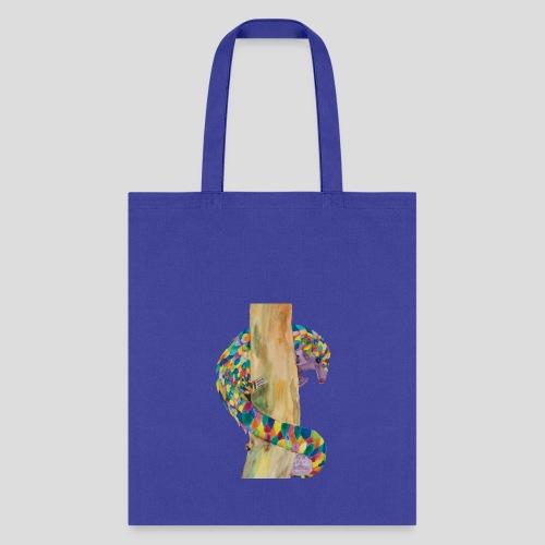 Playful Pangolin Cotton Tote - Tote Bag
