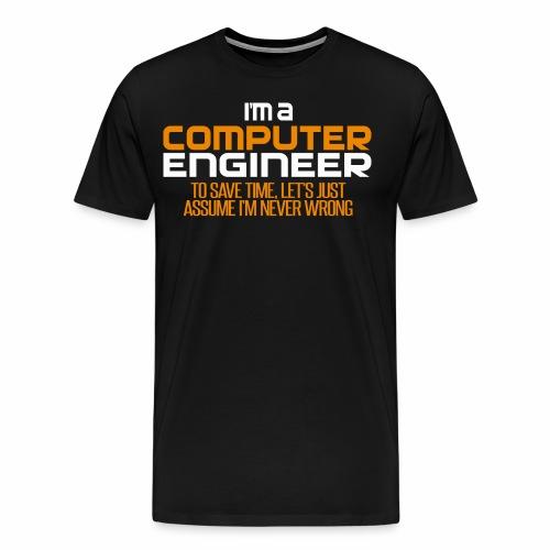 Computer Engineer - Men's Premium T-Shirt