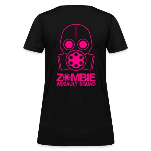 Zombie Assault Squad Women's T-shirt Neon Pink - Women's T-Shirt