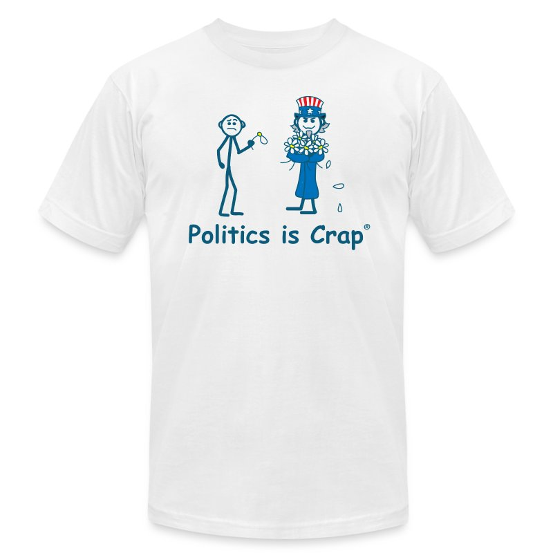 Daisy Politics - Men's T-Shirt by American Apparel