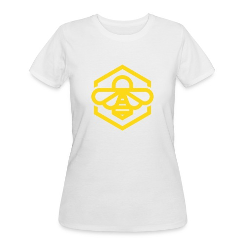 Yellow Bee Women's Tee - Women's 50/50 T-Shirt